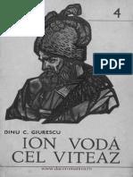 Dinu C. Giuerscu-Ioan Voda Cel Viteaz