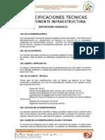 ESPECIFICACIONES TECNICAS DE UN PROYECTO DE CONSTRUCCIÓN DE LABORATORIO DE SUELOS