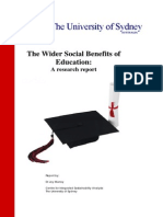 ISA Wider Social Benefits Report