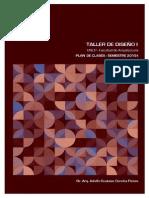 Plan de Clase Taller de Diseño I (Semestre 2015-I)