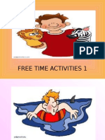9924 Free Time Activities Part 1 25 Slides