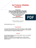 Acatistul Tuturor Sfinților Români
