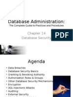 Database Security Ch 14