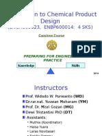 Chem Product Design Introduction PPT