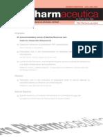 Immunomodulatory Activity of Bauhinia Racemosa