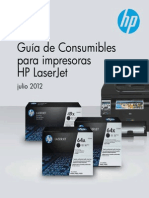 Guía de Consumibles HP