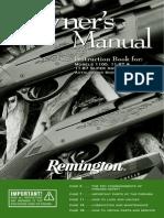 Remington Model 1100 manual
