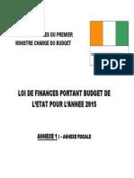 Annexe Fiscale 2015