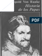 Von RANKE, Leopoldo - Historia de los papas en la época moderna.pdf