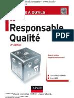 La Boîte à Outils Du Responsable Qualité