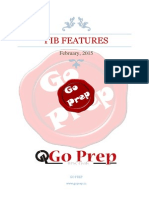 PIB Features, February, 2015