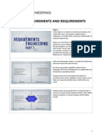 3 - Requirements and Requirements Engineering
