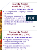 PPts of Corporate Social Responsibility