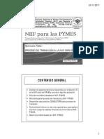 Proceso de Transición a La Niif-pymes