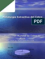 Metalurgia extractiva cobre