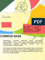 Tugas Kelompok 3 Elektronika Common Base
