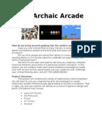 the archaic arcadepp