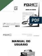 FORTG . MIG130 220V . Manual Do Usuário