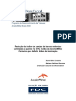 Relatório Projeto Aplicativo