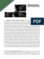 HOrIzOntE ErrAntE - Um cAmpO dE ArmAdilhAs p/ filÓsOfOs - LÉO PImEntEl (2015)