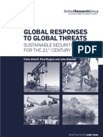 Global Responses to Global Threats