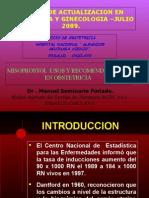Misoprostol Usos en Obstetricia Julio 2009.ppt