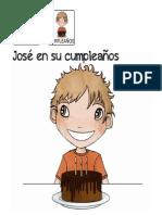José en su cumpleaños
