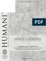 Humanitas Cuaderno 31 - Amar en La Diferencia