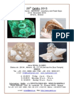 29th GeMin 2015 International Mineral,Gemstone and Fossil Expo