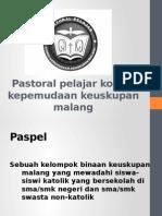Pastoral Pelajar Keuskupan Malang