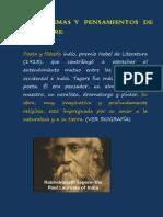 Poemas y Pensamientos de R.Tagore