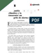 La Jornada- El Cambio Climático y La Amazonia- Un Grito de Alarma