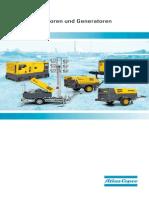 Lieferprogramm Atlas Copco Fahrbare Kompressoren Und Generatoren Tcm49 1866298