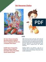 Hanuman Chalisa With Meaning by SriRajaRajeswari.org