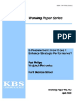 Phillips Piotrowicz 2006 E-procurement How Does It Enhance Strategic Performance-libre