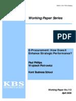 Phillips Piotrowicz 2006 E-procurement How Does It Enhance Strategic Performance-libre