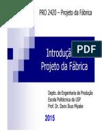 Introdução Ao Projeto Da Fábrica, Tipos de Processo