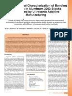 Schick - Et Al - Bonding Interfaces - Ultrasonic AM - Aluminum