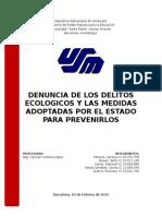 Derecho Ecologico - Trabajo Feb-2015