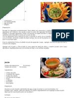recetas centroamericanas