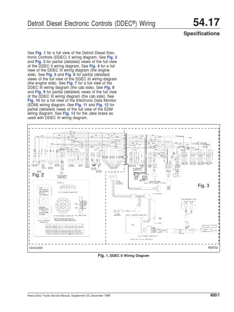 Ddec 1 Wiring Diagram   Wiring Diagram