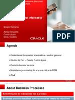1&4 - Proiectarea Sistemelor Informatice & Oracle BPM v0.1