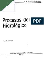 Procesos Del Ciclo Hidrológico-Campos Aranda