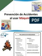Prevencion de Accidentes en Maquinas