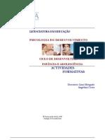 Psicologia do Desenvolvimento- Actividade2