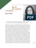 50 Años de La Facultad de Ciencias Sociales - Fanni-Muñoz