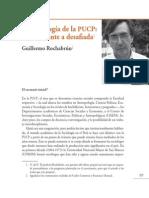 50 Años de La Facultad de Ciencias Sociales - Guillermo-Rochabrún