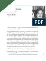 50 Años de La Facultad de Ciencias Sociales - Norma-Fuller