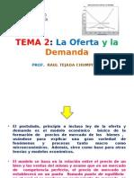Tema 3 La Oferta y La Demanda (Prf)