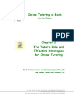 Online Tutoring E-book, Ch2 the Tutor's Role